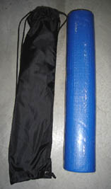 Gym Mat With Bag (blue)
